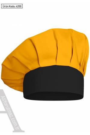 4200 AŞÇI MANTAR KEPLERİ Sarı - Siyah