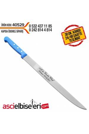 FİLETO BIÇAĞI 25cm Bıçağın üzerine isim yazmak HEDİYE